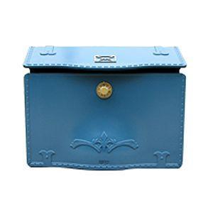 郵便ポスト 郵便受け エクスポストD-1(セレスティアルブルー)|famitei