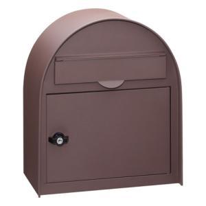 郵便ポスト ヴィンテージポスト PE-5776(サテン調ブラウン) / 鍵付き ポスト 壁掛け ポスト 郵便受け アンティーク ポスト 激安ポスト|famitei