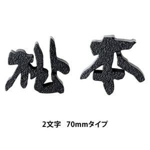 鋳物文字表札 CW-1(2文字) 70mmタイプ / 表札 激安 アルミ鋳物 表札 デザイン 表札 famitei