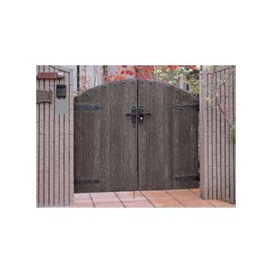 ボレロ門扉3型 07-12両開き柱セット LIXIL おしゃれ アルミ 鋳物 錆びにくい アンティーク調|famitei