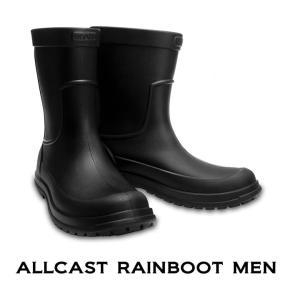クロックス レインブーツ crocs オールキャスト レインブーツ メン allcast rainn bootmen