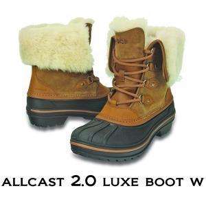 crocs クロックス レディース allcast2.0 luxe boot w/オールキャスト2.0 ラックス ブーツ ウィメン