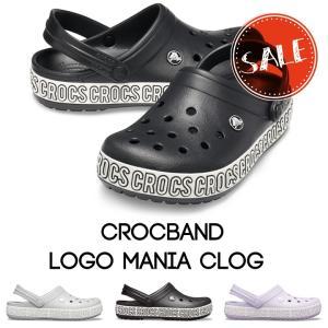 クロックス メンズ レディース crocs クロックバンド ロゴ マニア クロッグ crocband...