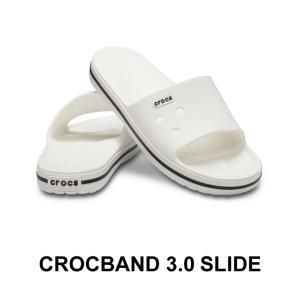 クロックス メンズ レディース crocs クロックバンド3.0スライド crocband 3.0 slide 事務 オフィス