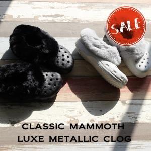 クロックス メンズ レディース crocs クラシック マンモス ラックス メタリック クロッグ c...