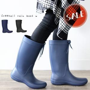 クロックス レディース crocs フリーセイル レインブーツ ウィメン freesail rain...