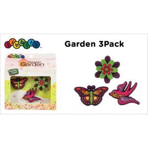 jibbitz【ジビッツ】Garden_3pack|famshoe