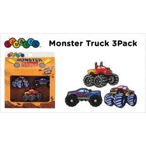 jibbitz【ジビッツ】Monster_Truck_3Pack|famshoe