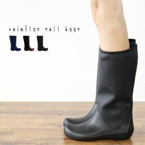 クロックス レディース レインブーツ crocs レインフロー トール ブーツ ウィメン rainfloe tall boot