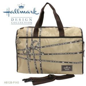 Hallmark (ホールマーク)トラベル 旅行 リボン柄ポケッタブル・ボストンバッグ  2973372|fan-field