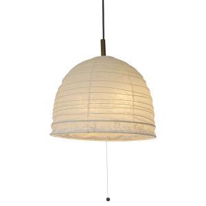 日本製和紙照明 ドーム型2灯ペンダントライト PDN-40 bowl 3139010|fan-field