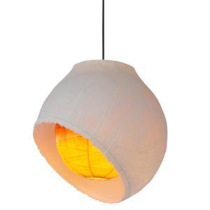 日本製和紙照明 1灯ペンダントライト PAN-450 moon 電球別売 3779785|fan-field