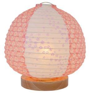 日本製和紙照明 和紙照明 テーブルランプ SS-3020 peach 4555471|fan-field
