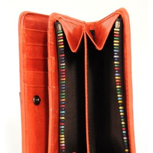 SOLATINA(ソラチナ)  馬革メッシュ ririファスナーミドルサイズ 二つ折り財布 4838638|fan-field|04