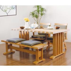 【伊吹】 ダイニング4点セット ダイニングテーブル(150幅/4人掛け用)  5180032|fan-field
