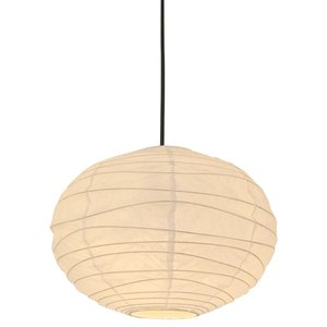 【日本製和紙照明】和風照明1灯ペンダントライト SPN1-1134 cloud 電球別売  6353540|fan-field
