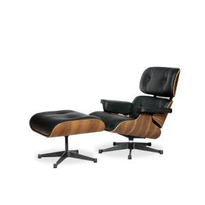 イームズ ラウンジチェア&オットマン ウォールナット デザイナーズ家具 9041208|fan-field