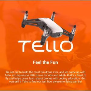【先行予約:3月下旬入荷】 Tello トイドローン + 予備バッテリー 1本 (損害賠償保険付) D180108013|fan-field|08