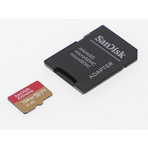 SanDisk Extreme microSDXCカード [128GB] Class10 UHS-3 SDSQXAF-128G-GN6MA|fan-field