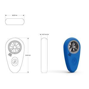 WEATHER meter - ウェザーメーター(iOS・Android対応 風速・方位・気圧・湿度・温度計) WFANO-02|fan-field|03
