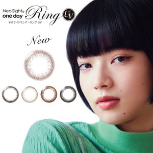 ☆★Neo sight 1DAY Ring ★☆ ネオサイトワンデーリングAM UV 度あり 度なし...