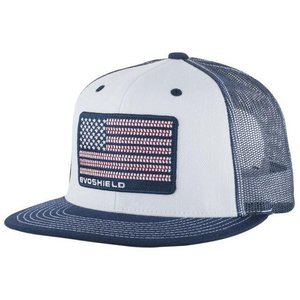 エボシールド メンズ 帽子 ハット EVOSHIELD FLAG PATCH SNAPBACK TRUCKER HAT - MEN'S|fancyowl