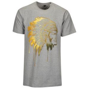 ハッスルギャング メンズ シャツ Tシャツ HUSTLE GANG MOLTEN CHIEF S/S T-SHIRT - MEN'S|fancyowl