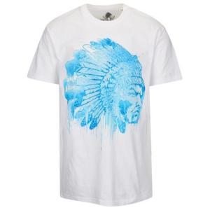 ハッスルギャング メンズ シャツ Tシャツ HUSTLE GANG ICED OUT CHIEF S/S T-SHIRT - MEN'S|fancyowl
