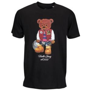 ハッスルギャング メンズ シャツ Tシャツ HUSTLE GANG VARSITY TEDDY S/S T-SHIRT - MEN'S|fancyowl