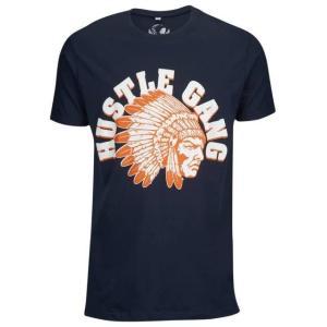 ハッスルギャング メンズ シャツ Tシャツ HUSTLE GANG CINEMA CHIEF S/S T-SHIRT - MEN'S|fancyowl
