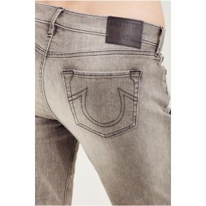 カスケード レディース 服 デニム True Religion Women's Halle Mid Rise Super Skinny Jeans in Black Cascade|fancyowl