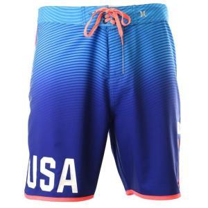 ハーレー メンズ 水着  Hurley Men's Phantom USA Olympic Team Boardshorts|fancyowl