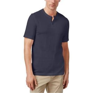 ダグラス メンズ シャツ  Tasso Elba Mens Douglas Heathered Henley Shirt navybluecbo M|fancyowl
