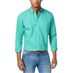 ダグラス メンズ シャツ  Club Room Mens Douglas Cotton Button Up Shirt|fancyowl