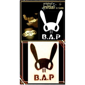 B.A.P b.a.p ビーエーピー 24Kゴールドサインシール【メール便可】|fani2015