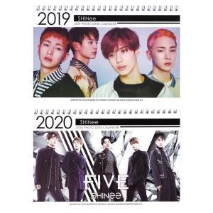 [ SHINEE シャイニー ] 2019-2020年 2年分卓上カレンダー[2019-2020 K-STAR PHOTO DESK CALENDAR 2019-2020] fani2015