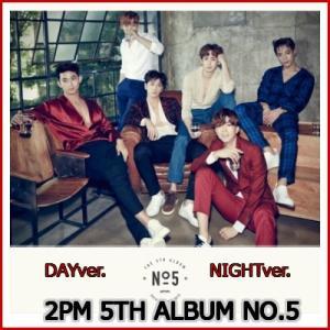 2PM 正規5集/:NO5 アルバム WHITEver. BLACKver. 初回ポスター付き 選択可能|fani2015