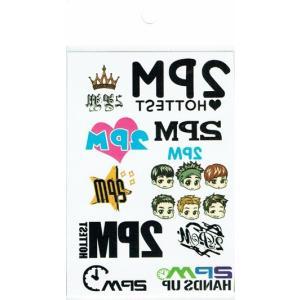 2PM ツーピーエム トゥーピーエム タトゥーステッカー 【メール便可】|fani2015