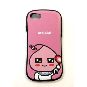 アピーチ APEACH ピンク アイフォン 7/8 ケース|fani2015