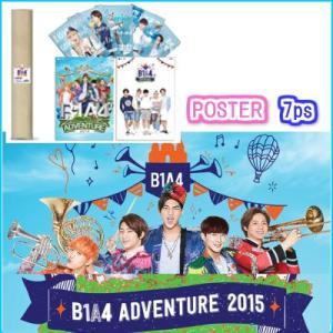 B1A4 ポスターセット B1A4 ADOVENTURE 2015 公式コンサートグッズ fani2015
