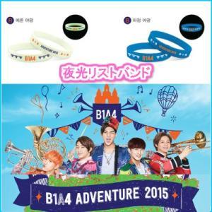 B1A4 夜光リストバンド  B1A4 ADOVENTURE 2015 公式コンサートグッズ fani2015
