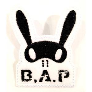 BAP (ビーエーピー) bapロゴ刺繍ワッペン【メール便可】|fani2015