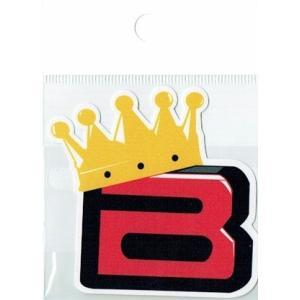 BIGBANG ロゴステッカー『Bマーク』 bigbang ビッグバン【メール便可】|fani2015