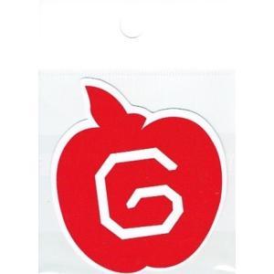BIGBANG ロゴステッカー『GDリンゴ』 bigbang ビッグバン【メール便可】|fani2015