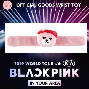 BLACKPINK [WRIST TOY(スラップバンド)] 2019 WORLD TOUR BLACKPINK IN YOUR AREA OFFICIAL GOODS【YG公式グッズ】リストバンド fani2015