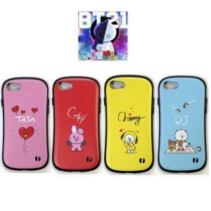 BTS防弾少年団 BT21 (プリティ)モバイル キャラクター IPHONE7/7S/8 CASE アイフォンケース【選択別】4種類
