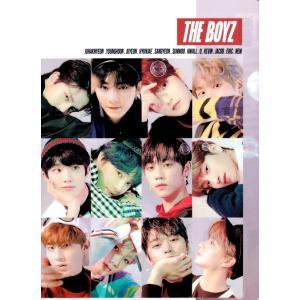 THE BOYZ (ザボーイズ)(one&only)A4サイズクリアファイル【メール便可】|fani2015