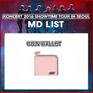 iKON COIN WALLET iKONCERT 2016 SHOWTIME TOUR IN SEOUR GOODS 公式グッズ ikon アイコン fani2015
