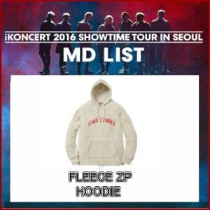 送料無料 iKON  FLEECE ZIP HOODIE iKONCERT 2016 SHOWTIME TOUR IN SEOUR GOODS 公式グッズ ikon アイコン fani2015