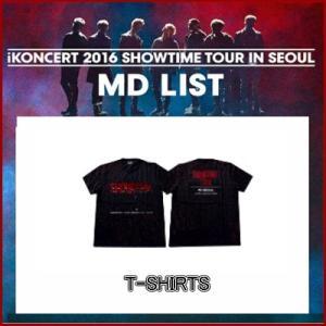 iKON TOUR T-shirt  iKONCERT 2016 SHOWTIME TOUR IN SEOUR GOODS 公式グッズ ikon アイコン fani2015